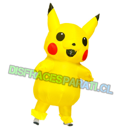 PIKACHU INFLABLE ADULTO